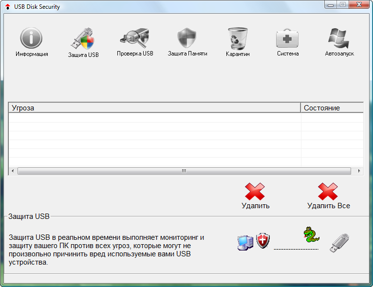 Информация о программе Название USB Disk Security Год выпуска 2012.